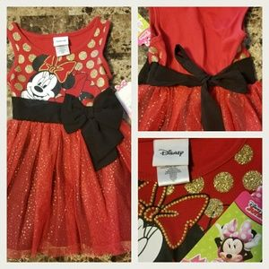 Disney Size 12 Months Minnie Mouse Tutu Dress
